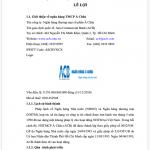 Báo cáo thực tập ngân hàng thương mại cổ phần Á Châu