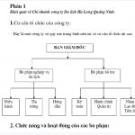Báo cáo thực tập tại công ty du lịch Hạ Long Quảng Ninh